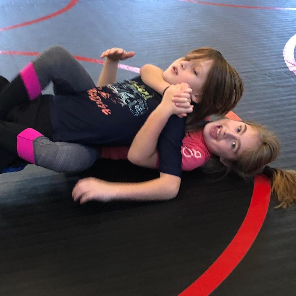 rear naked choke childrens jiu jitsu