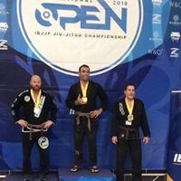 IBJJF champion Brett Oteri Gold Medal 2018