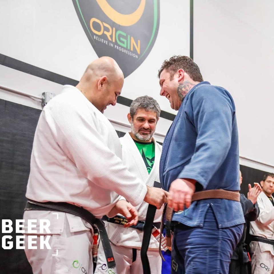 NEU black belt promotion Dedeco