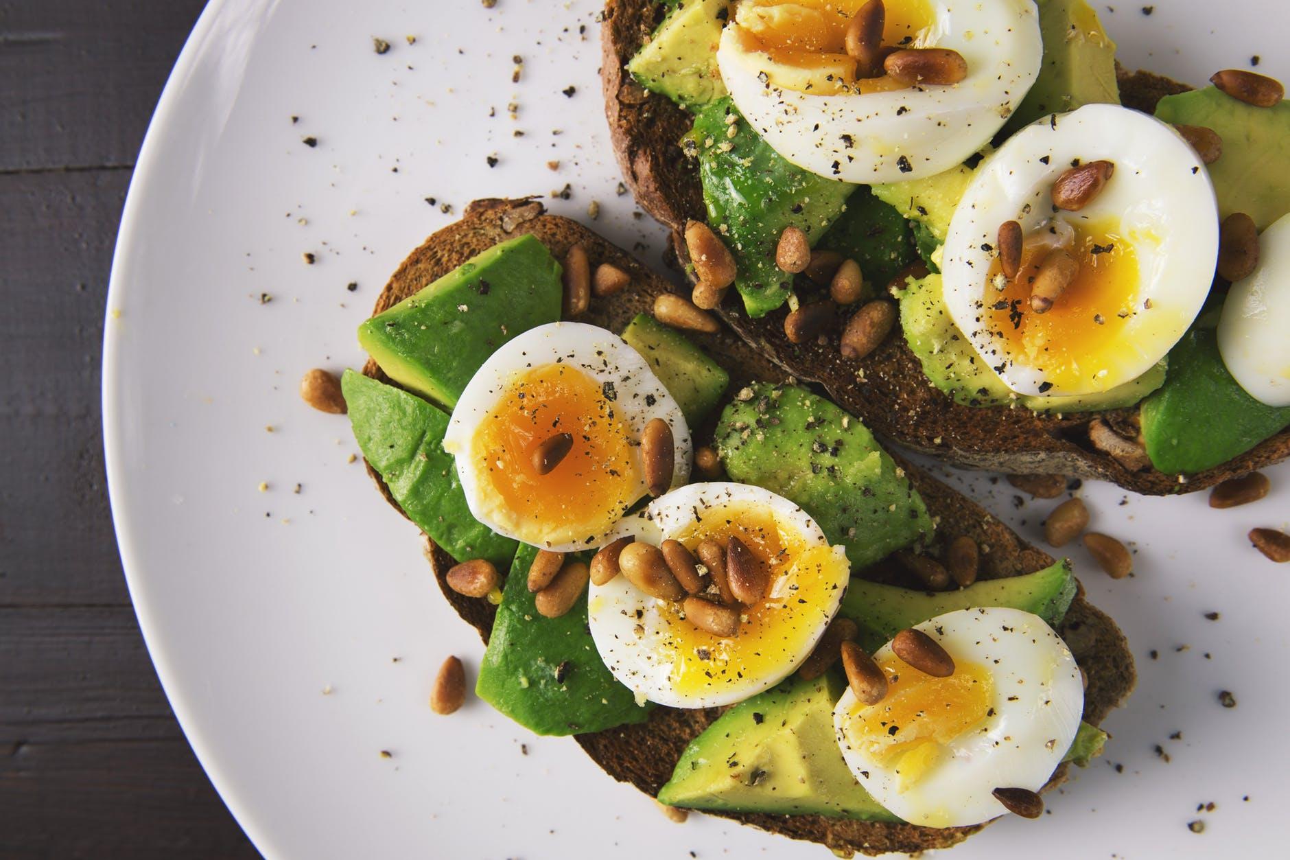 Nutrition, Avocados, Eggs